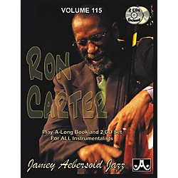 Jamey Aebersold Volume 115 - Ron Carter - Play-Along Book and 2-CD Set (V115DS)