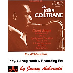 Jamey Aebersold Volume 28 - John Coltrane - Play-Along Book and CD Set (V28DS)