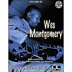 Jamey Aebersold Volume 62 - Wes Montgomery - Book and CD Set (V62DS)
