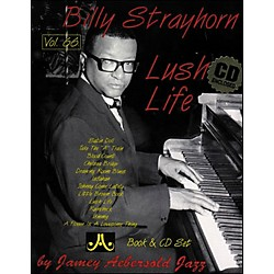 "Jamey Aebersold Volume 66 - Billy Strayhorn""Lush Life"" - Book and CD Set (V66DS)"