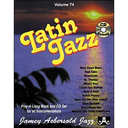Jamey Aebersold Volume 74 - Latin Jazz - Play-Along Book and CD Set (V74DS)