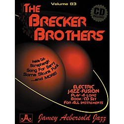 Jamey Aebersold Volume 83 - The Brecker Brothers - Play-Along Book and CD Set (V83DS)