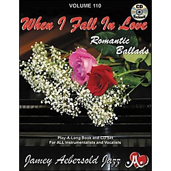 Jamey Aebersold When I Fall In Love Romantic Ballads (V110DS)