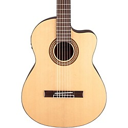 Jasmine JC-25CE Cutaway Classical Acoustic-Electric Guitar (JC25CE-NAT_136393)