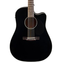 Jasmine JD-39 Dreadnought Acoustic-Electric Guitar (JD39CE-BLK_136403)