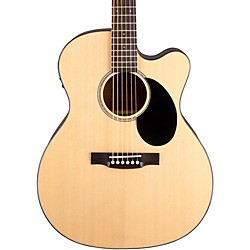 Jasmine JO-36CE Cutaway Orchestra Acoustic Electric Guitar (JO36CE-NAT_136408)