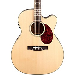 Jasmine JO-37 Solid Top Cutaway Orchestra Acoustic-Electric Guitar (JO37CE-NAT_136410)