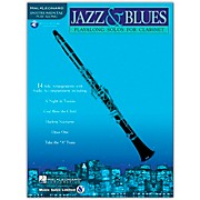 Hal Leonard Jazz & Blues Playalong Solos for Clarinet (Book/CD)
