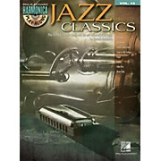 Hal Leonard Jazz Classics - Harmonica Play-Along Volume 15 Book/CD (Diatonic Harmonica)