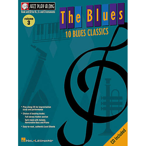 Hal Leonard Jazz Play-Along Series The Blues Book with CD-thumbnail