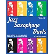 Jamey Aebersold Jazz Saxophone Duets Vol. 2