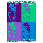 Jamey Aebersold Jazz Saxophone Etudes Vol. 3
