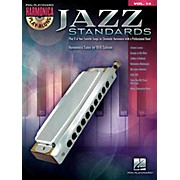 Hal Leonard Jazz Standards - Harmonica Play-Along Volume 14 Book/CD (Chromatic Harmonica)