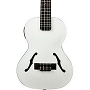 Kala Jazz Tenor Ukulele, Metallic White