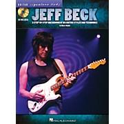Hal Leonard Jeff Beck Guitar Signature Licks Book/CD