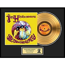 24 Kt. Gold Records Jimi Hendrix - Are You Experienced Gold LP Limited Edition of 2500