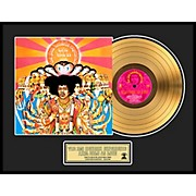24 Kt. Gold Records Jimi Hendrix - Axis: Bold As Love Gold LP Limited Edition of 2500