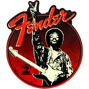 "Fender Jimi Hendrix ""Peace Sign"" Magnet"