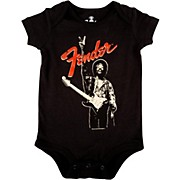 Fender Jimi Hendrix Peace Sign Onesie