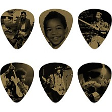 Dunlop Jimi Hendrix West Coast Seattle Boy Pick Tin with 6 Heavy Picks