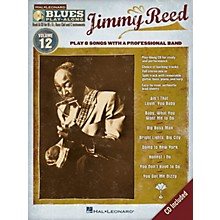 Hal Leonard Jimmy Reed (Blues Play-Along Volume 12) Blues Play-Along Series Softcover with CD Performed by Jimmy Reed