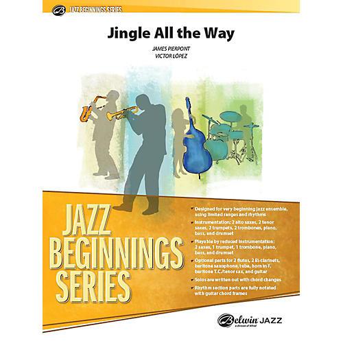 Alfred Jingle All the Way Jazz Band Grade 1 Set-thumbnail