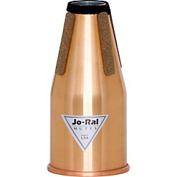 Jo-Ral FRC All Copper Non Transposing French Horn Straight Mute (Frc)