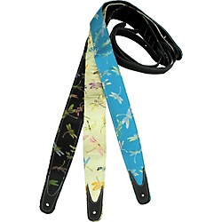 Jodi Head Dragonfly Guitar Strap (Dragonfly-Blue)