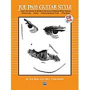 Alfred Joe Pass Guitar Style Book & CD