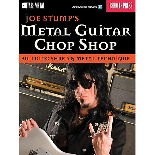Berklee Press Joe Stump's Metal Guitar Chop Shop - Building Shred & Metal Techniques Book/Audio Online-thumbnail