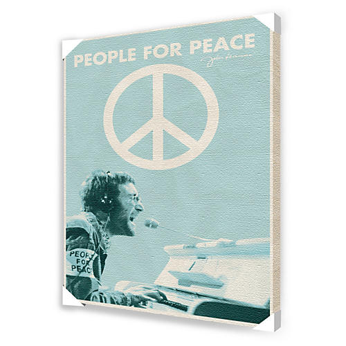Ace Framing John Lennon People For Peace Framed Artwork-thumbnail