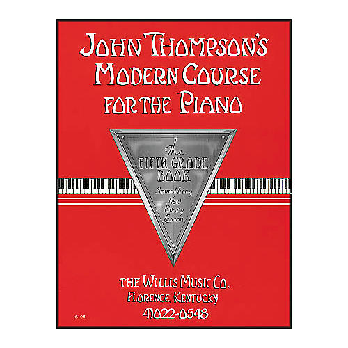 Willis Music John Thompson's Modern Course for The Piano Fifth Grade Book-thumbnail