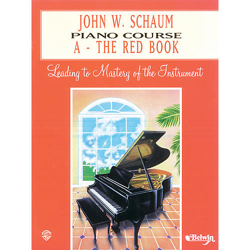Alfred John W. Schaum Piano Course A The Red Book A The Red Book-thumbnail
