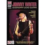 Cherry Lane Johnny Winter Legendary Licks Guitar DVD (Featuring Johnny Winter)