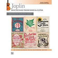 Alfred Joplin: Selected Rags Transcribed for Guitar - Book Intermediate