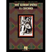 Hal Leonard Jose Alfredo Jimenez 15 Canciones Composer Collection Piano, Vocal, Guitar Songbook