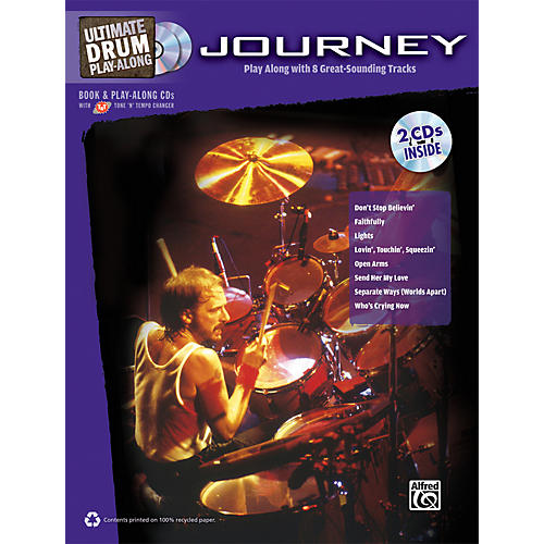 Alfred Journey - Ultimate Drum Play-Along Book & 2 CDs-thumbnail