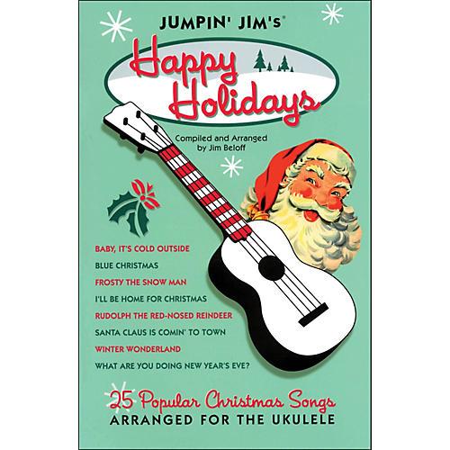 Hal Leonard Jumpin' Jim's Happy Holidays Uke Songbook
