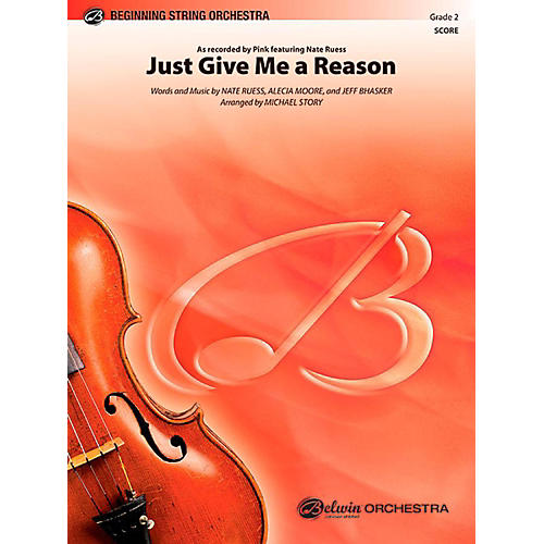 Alfred Just Give Me a Reason String Orchestra Level 2 Set-thumbnail
