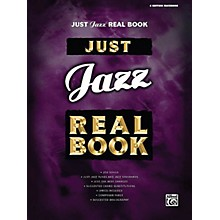 Hal Leonard Just Jazz Real Book (Bass Clef Edition) Fake Book Series Softcover