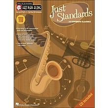 Hal Leonard Just Standards Jazz Play- Along Volume 110 CD/Pkg