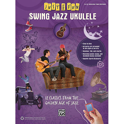 Alfred Just for Fun Swing Jazz Ukulele Book-thumbnail
