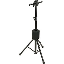 K&M Double Guitar Stand (17620-Black)