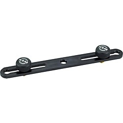 K&M Microphone Bar Dual Mic Holder (23550-500-55)