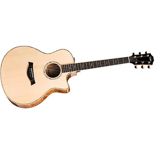 Taylor K16ce-L Koa/Spruce Grand Symphony Left-Handed Acoustic-Electric Guitar-thumbnail