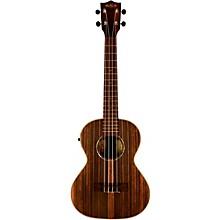 Kala KA-EBY-TE Ebony Tenor Acoustic-Electric Ukulele
