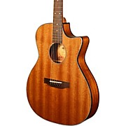 Kala KA-GTR-MTS-E Thinline Mahogany Acoustic-Electric Guitar