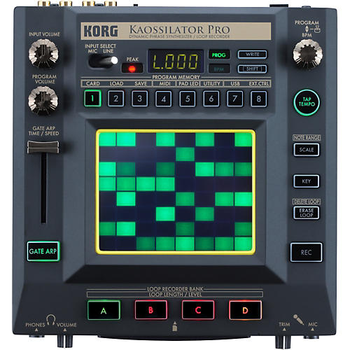 Korg KAOSSILATOR PRO - Dynamic Phrase Synth/Loop Recorder-thumbnail