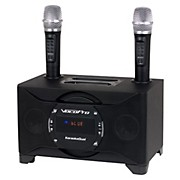 VocoPro KARAOKEDUAL All-In-One Karaoke Boom Box with Wireless Mics