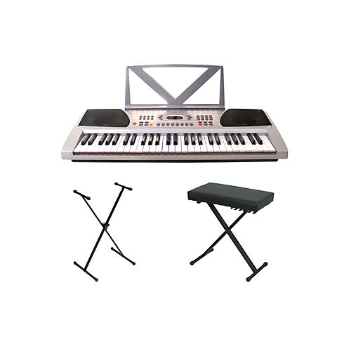 Huntington KB54 Portable Keyboard w/ Stand and Bench-thumbnail